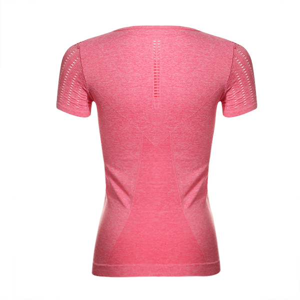 Women Compression Gym T-Shirt Tights Sports Running Quick Dry Short Sleeve Tops