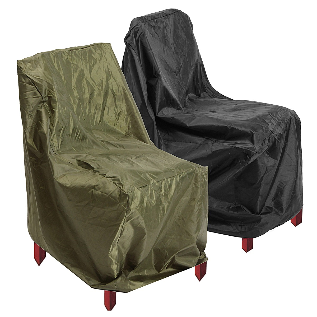 IPRee® 64x64x120cm Waterproof Polyester High Back Chair Cover Outdoor Patio Furniture Protection