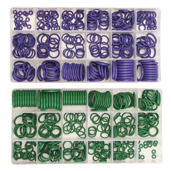 Suleve ™ MXRW1 R22 / R134a Резиновые кольца для кондиционеров воздуха Водонепроницаемы Стиральная машина 270Pcs