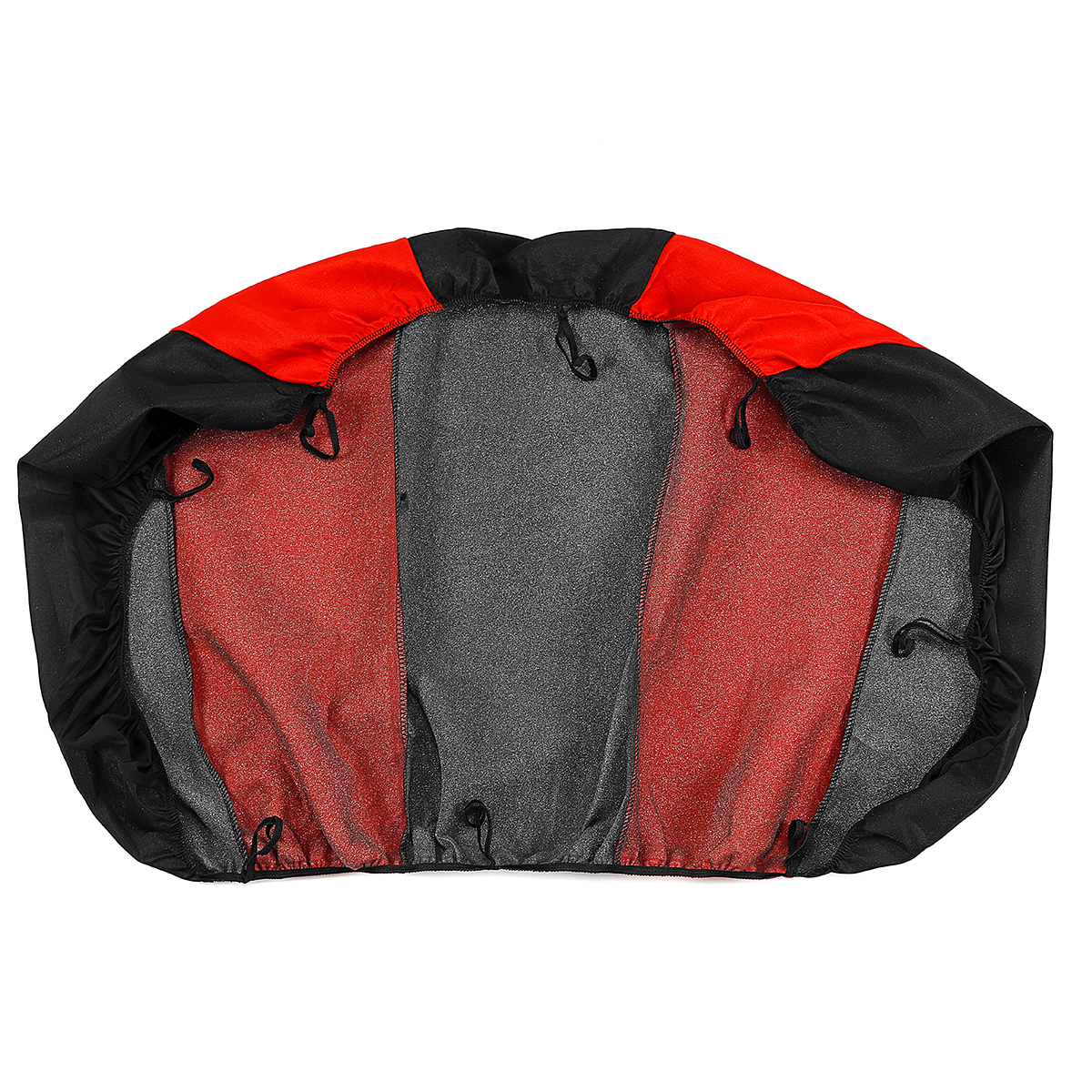 Polyester Fabric Car Front and Back Seat Cover Cushion Protector Universal for Five Seats Car