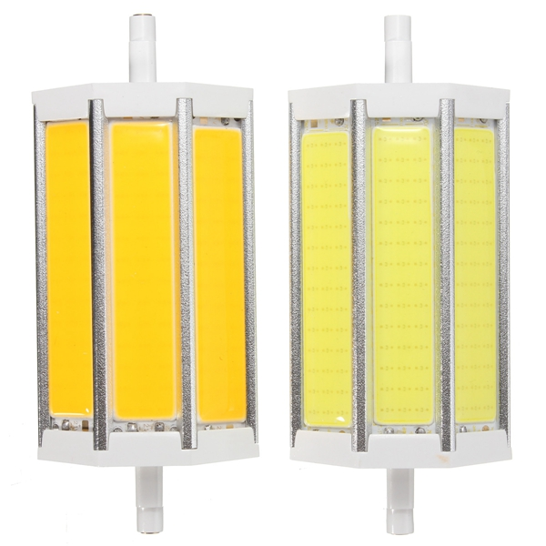 R7S 118MM 10W COB SMD White/Warmwhite LED Flood Light Spot Corn light Lamp Bulb AC 85-265V