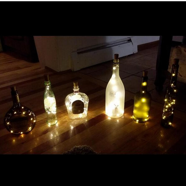 100CM Battery Powered Copper Wire LED Starry HoliDay Light for Xmas Party Wedding