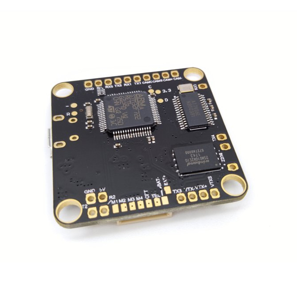 New CLRacing F7 Flight Controller AIO OSD 5V 3.3V BEC & Voltage Monitor Resistor 2-8S for RC Drone