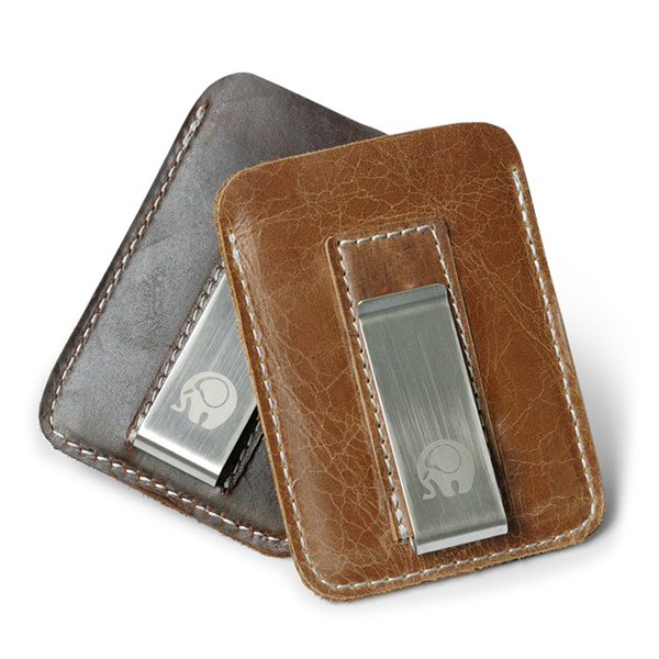Vintage Genuine Leather Card Holder Wallet Purse For Men Wom