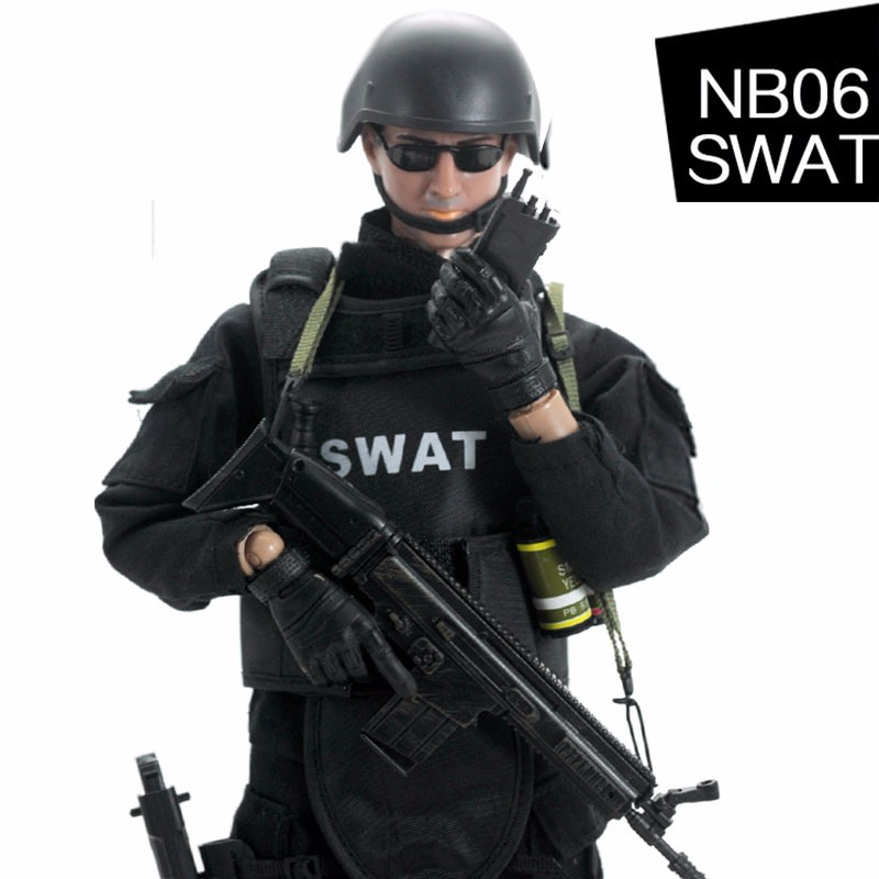 NB 1/6 30cm Uniform Military Army Combat Game Toys Soldier Set With Retail Box Action Figure Model T