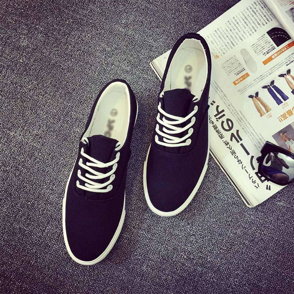 Mens Casual Lace Up Sneakers Breathable Leisure Shoes Comfortable Loafers