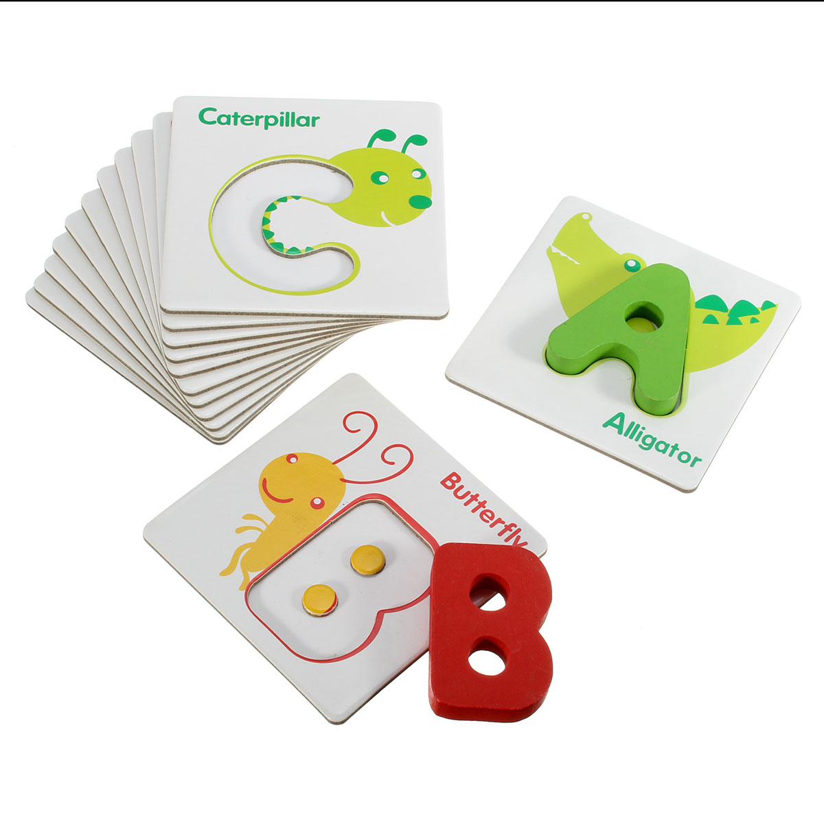 Baby kid Finder Chart Letter Card Early Educational Development Toy