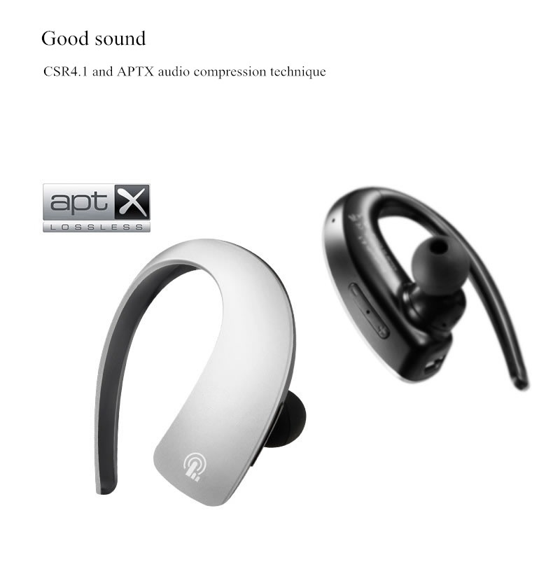 KONCEN Q2 Sport Stereo Touch Button Wireless Bluetooth 4.1 Headphone Earphone English Voice