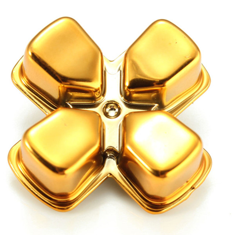 Bullet Buttons for Play Station 4 PS4 Controller Gold