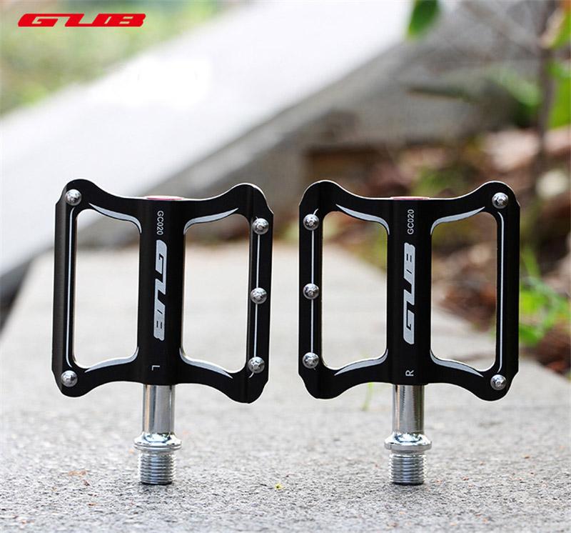 GUB GC020 Aluminum Alloy Bike Bicycle Pedals Durable Ultralight Road Bike MTB Cycling Pedal