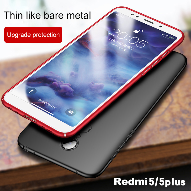 Bakeey Silky PC Hard Back Phone Case For Xiaomi Redmi 5 / Redmi 5 Global Version