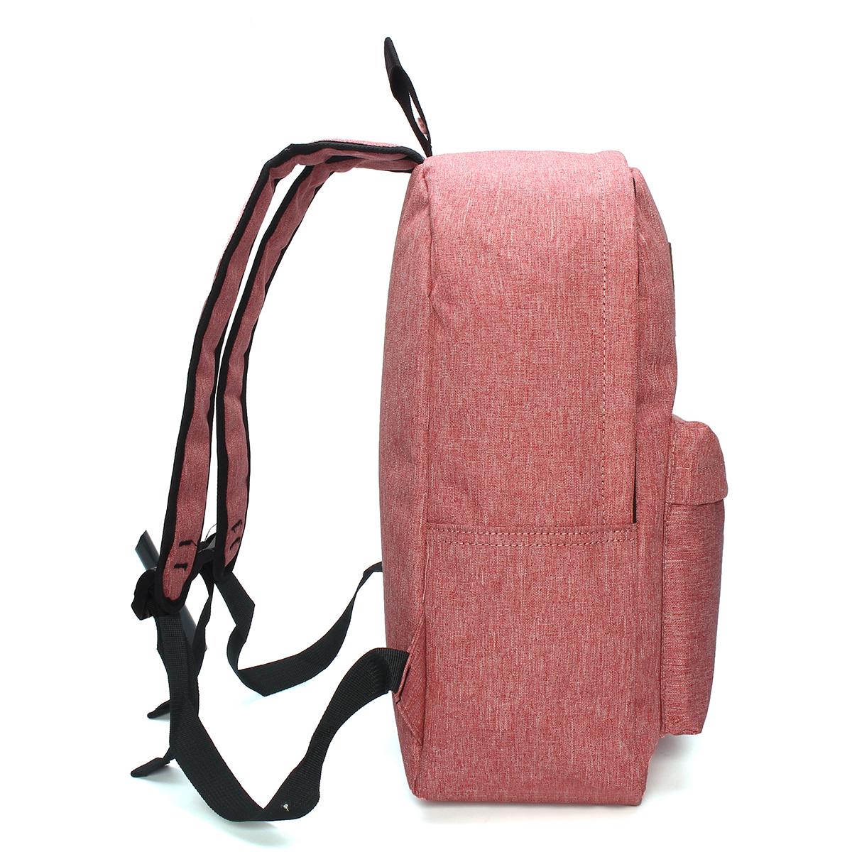 IPRee™ Men Women USB Charging Backpack Laptop Bag Travel School Book Rucksack