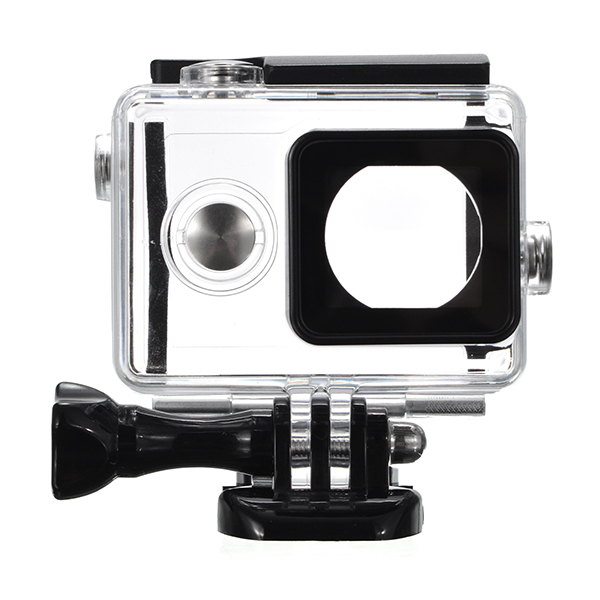 Waterproof Case Thicken for Xiaomi Yi Sports Camera need to work with LCD Display