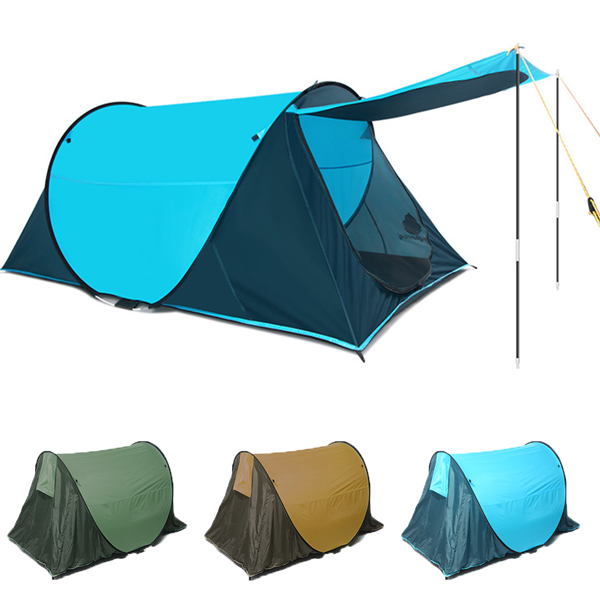 230 x 130 x 90cm Camping Tent 2-3 Persons Automatic Opening Family Party Sunshade Tent