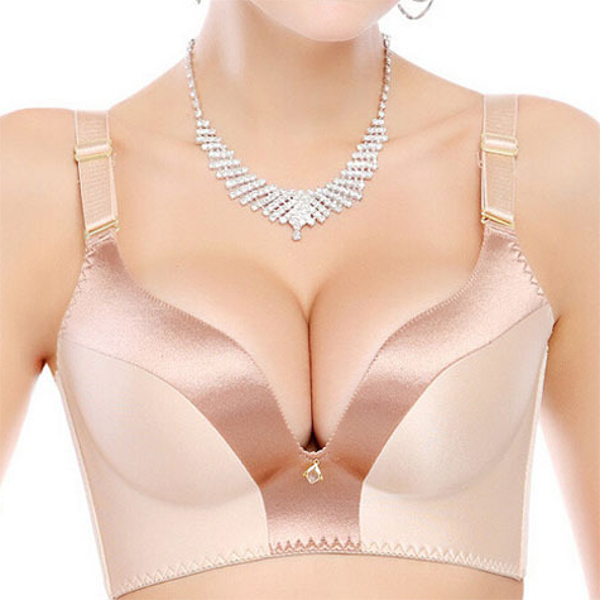 Seamless Wire Free Gather Adjustable Sexy Bra