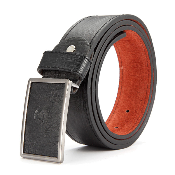 Mens PU Leather Alloy Needle Buckle Belt Belts Casual Leisure Pin Buckle Waistband Strap