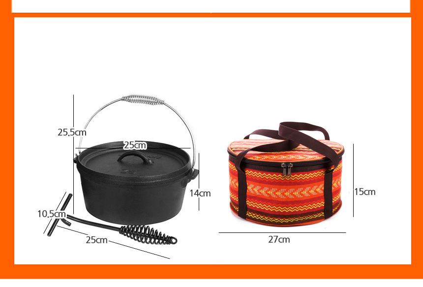 IPRee Outdoor Travel Storage Bag Camping Picnic Cookware Waterproof Kitchenware Portable Handbag