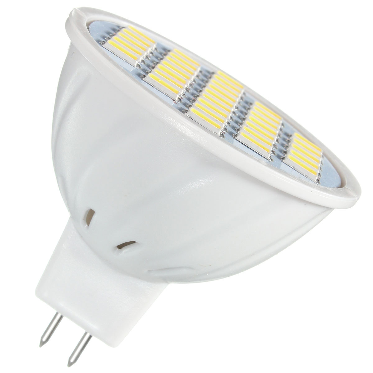 E27 E14 GU10 MR16 4W 5730 SMD 33 400LM Pure White Warm White LED Spot Lightt Lamp Bulb AC85-265V