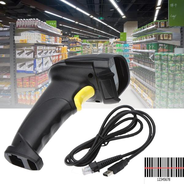 USB Handheld POS Laser Barcode Scanner Reader