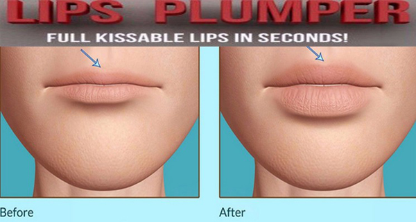 Women Silicone Sexy Lips Plumper Natural Fuller Pouty Smooth Lip Plump Enhancer Tool