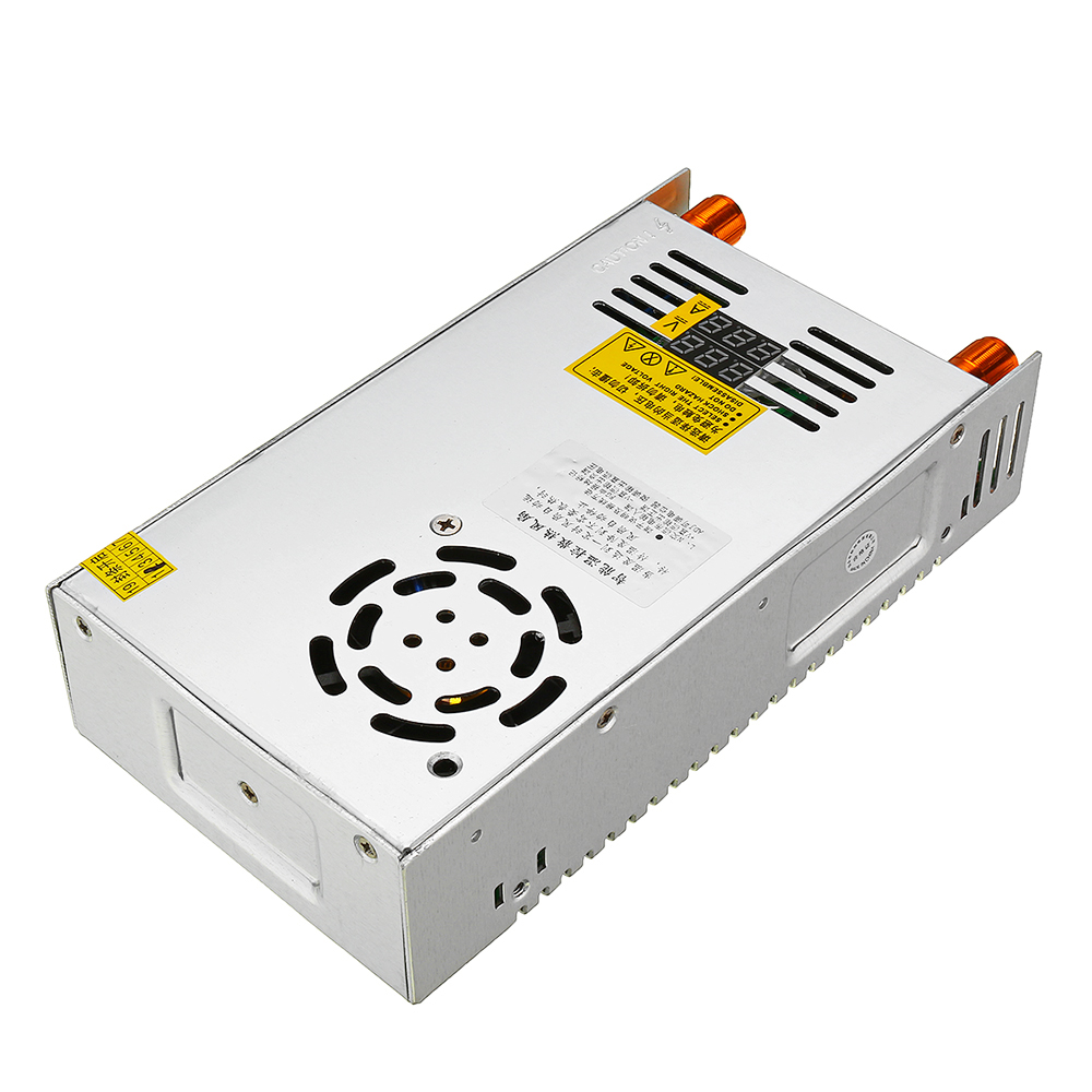 Switching Power Supply Transformer Adjustable AC 110/220V to DC 0-24/36/48V 480W with Dual Digital Display