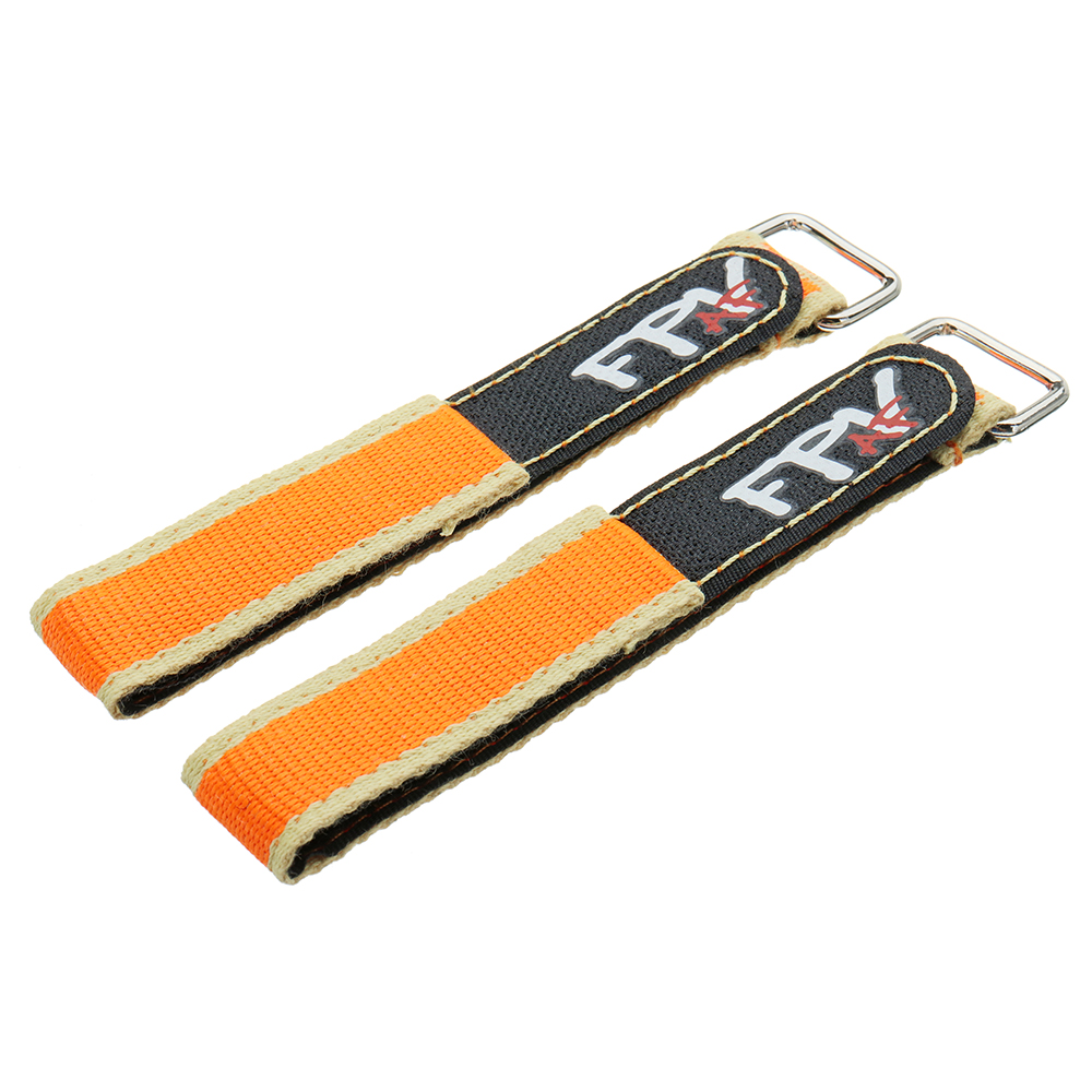 2Pcs RJX FPV AF 250x20mm Colorful Battery Strap with Metal Clasp for RC Drone Battery
