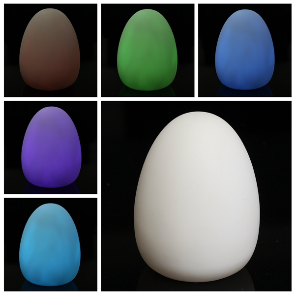 Colorful LED Easter Egg Night Light Lamp Kid Gift Wedding Party Home Garden Decoration