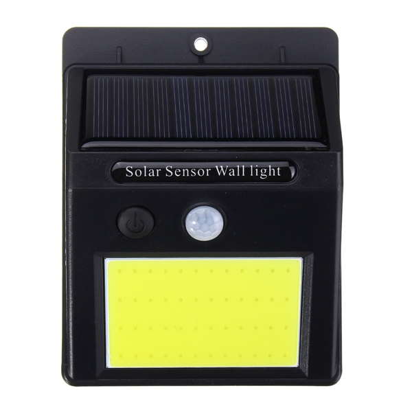ARILUX® AL-SL17 Solar Power 48 LED PIR Motion Sensor Light Waterproof Outdoor Garden Wall Lamp