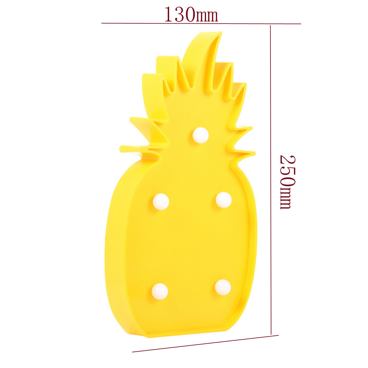 3W Pineapple LED Marquee Sign Night Light Lamp for Garden Home Party Christmas Decor