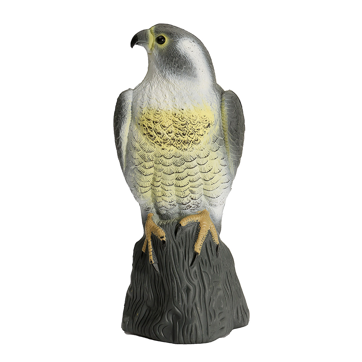 Fake Falcon Hawk Decoy Bird Pigeon Deterrent Scarer Repeller Garden Lawn Decor Hallowmas Decoration