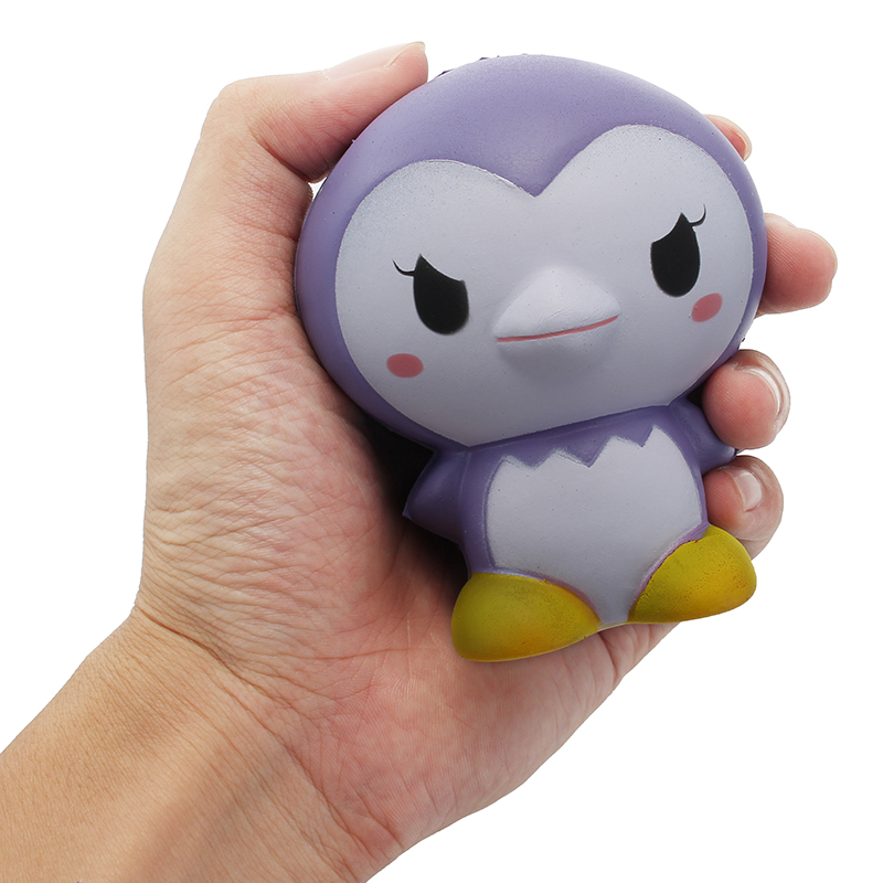 Squishy Factory Penguin 9cm Slow Rising With Packaging Collection Gift Decor Toy