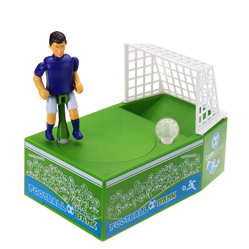Football Bank Coin Box Soccer Saving Money Piggy Bank K