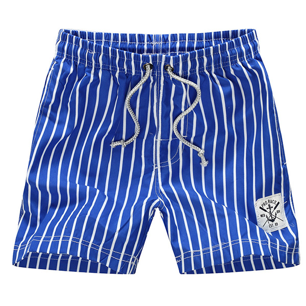 Summer Mens Fashion Stripe Shorts Casual Beach Shorts Pants