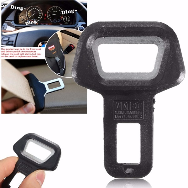 Universal Car Safety Seat Belt Buckles Alarm Stopper Canceller Clip Bottle Opener