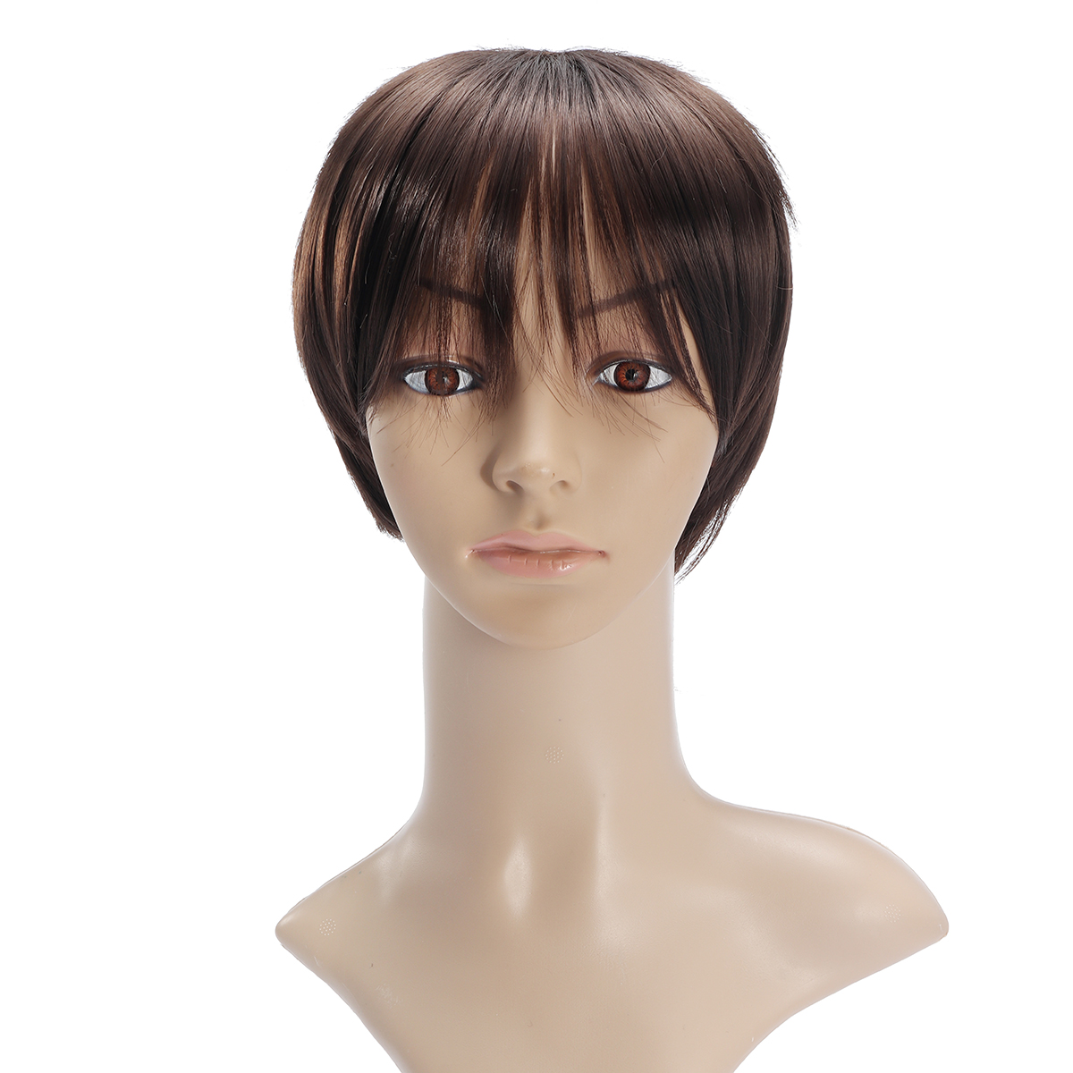 Voltron Lance Cosplay Short Brown Hair Wig