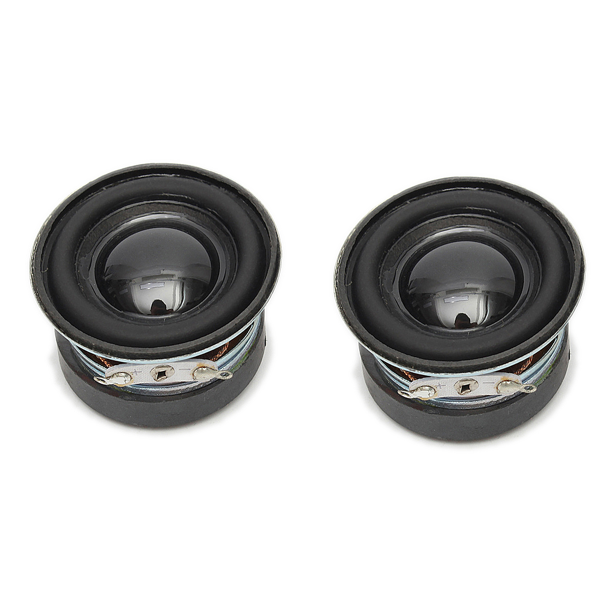 2Pcs 4Ohm 3W 40MM Acoustic Speaker 36MM Magnetic Audio Stereo Loudspeaker