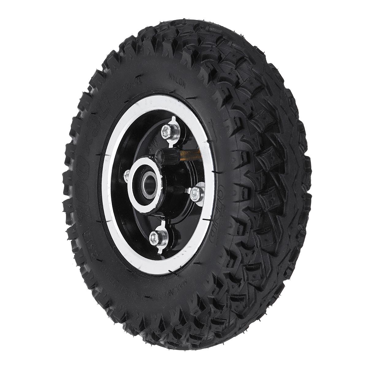 200*50mm Inflatable Longboard Off Road Gears Wheel For Electrical Skateboard
