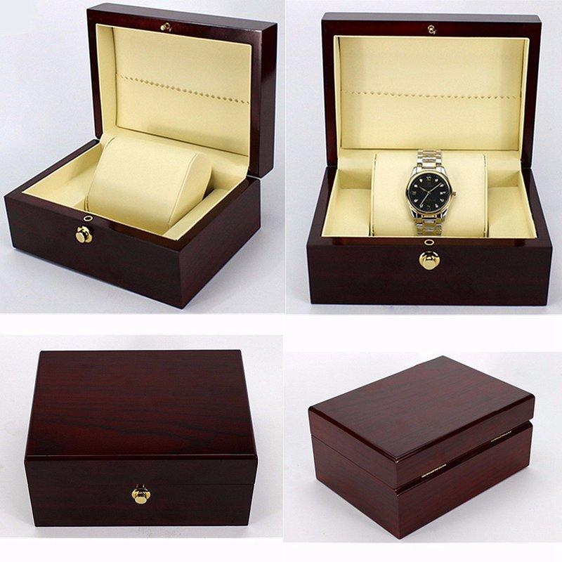 Luxury Wooden Watch Box Storage Container