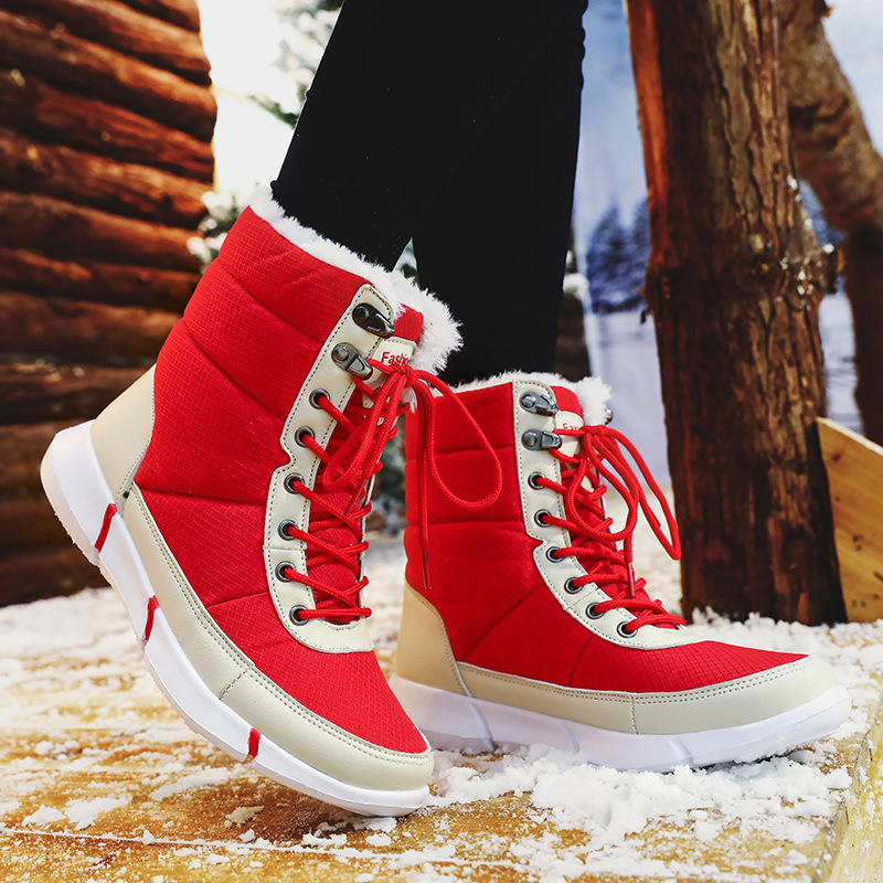Plus Size Outdoor Waterproof Keep Warm Snow Boots