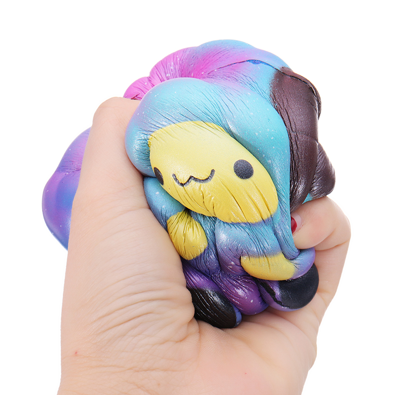 SquishyShop Random Galaxy Sheep Squishy Lamb 10.5cm Sweet Soft Slow Rising Collection Gift Decor Toy