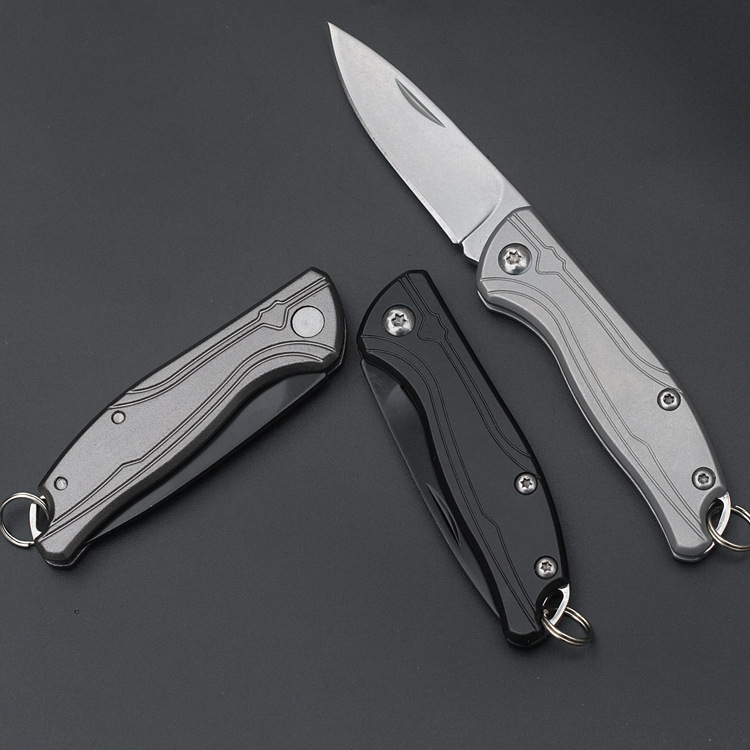 LAOTIE 122mm 4CR13 Stainless Steel Mini Folding Knife Outdoor Camping Survival High Hardness Knife