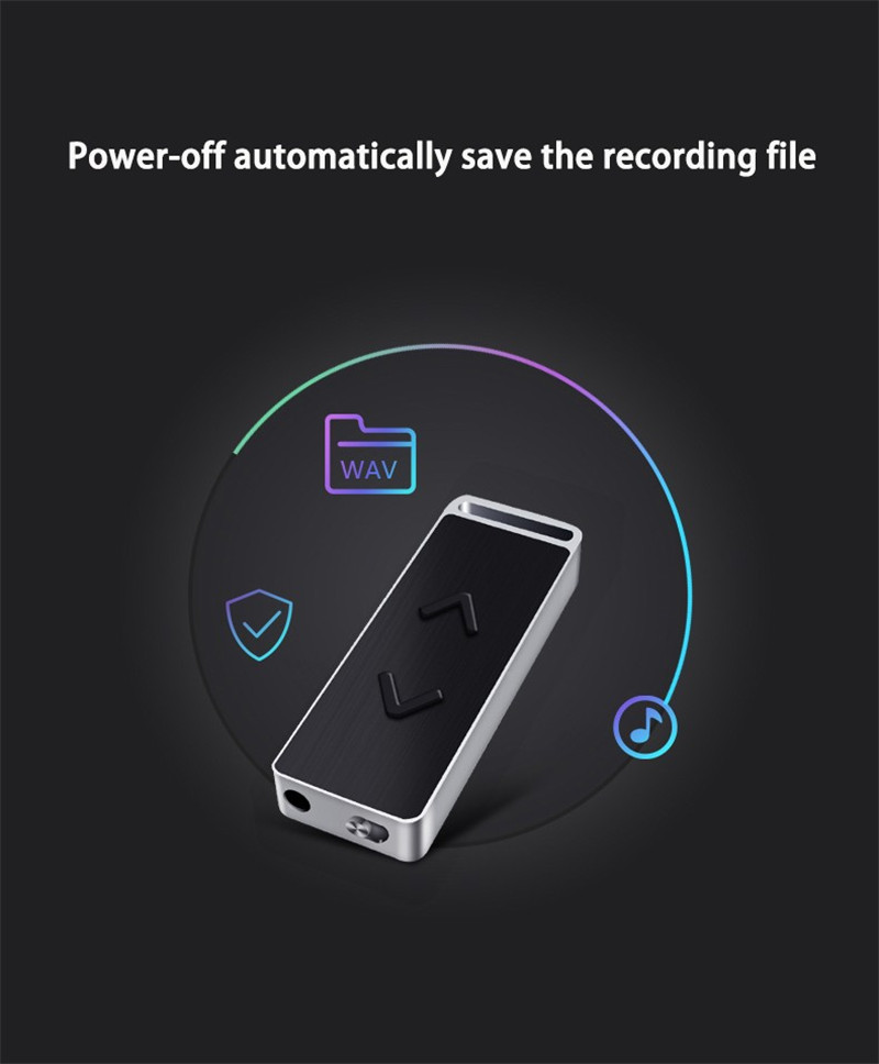 BENJIE C3 Professional 8GB USB Pen Drive MP3 Player Voice Recorder