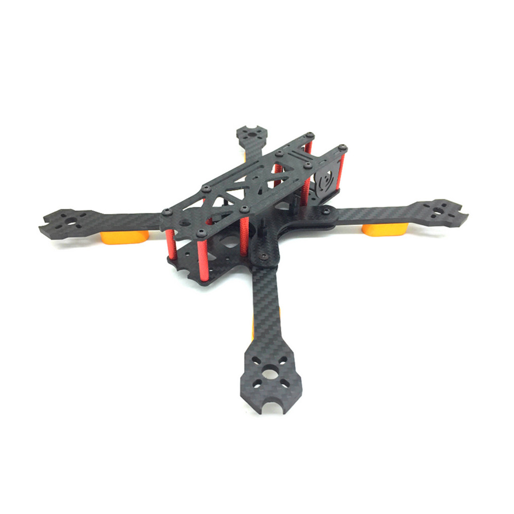 Uranus'5 235mm Wheelbase 5 Inch Carbon Fiber Frame Kit 4mm Arm for RC Drone FPV Racing - Photo: 3