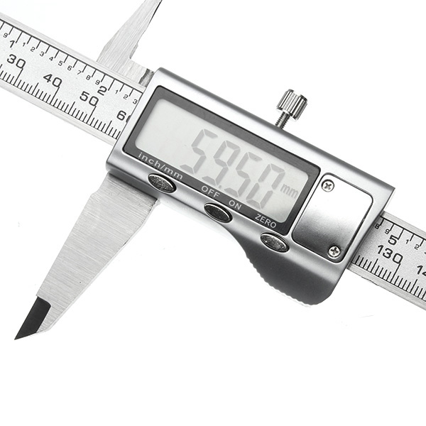 Digital Caliper 0-200mm 0.01mm Stainless Steel Electronic Vernier Caliper Metric/Inch Measuring Tool