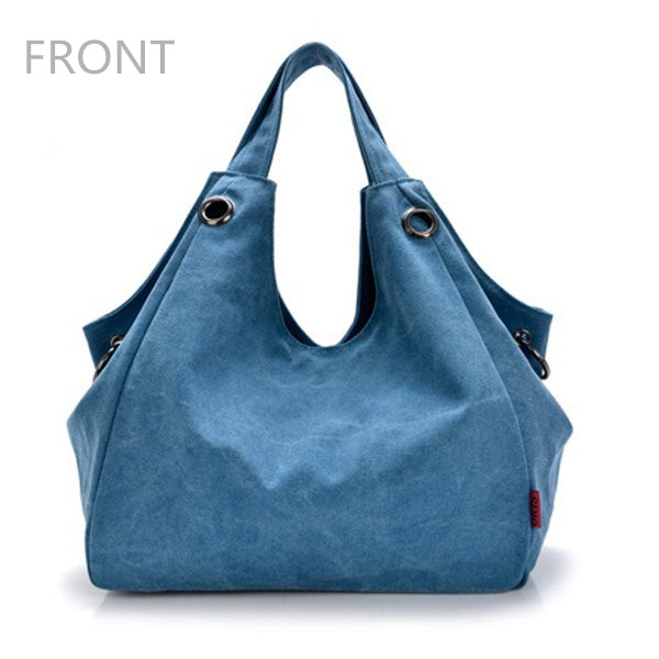 196ae2687c women canvas bags ladies casual hobo shoulder bags large capcity ...