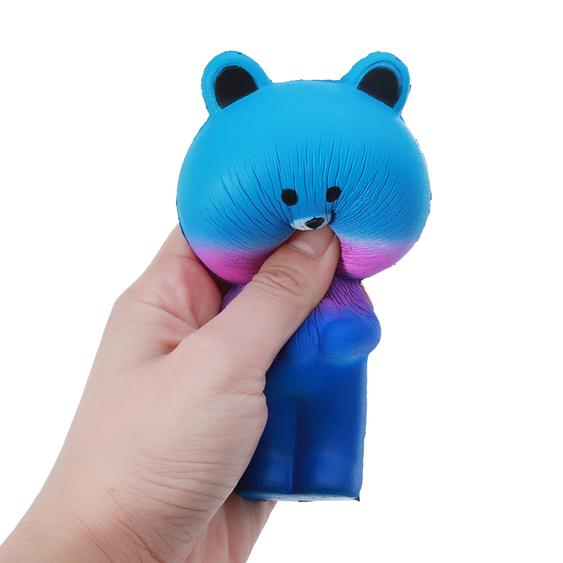 Star Bear Squishy 12cm Slow Rising Soft Animal Collection Gift Decor Toy