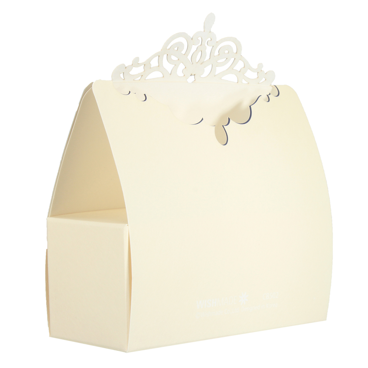 1 PCS Blue Paper Laser Hollow Out Diamond Wedding Candy Box Sweet Cake Gift Bags Party Favors