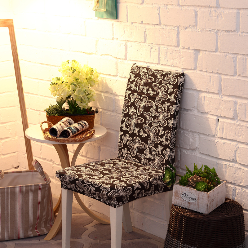 Honana WX-914 Elegant Noble Spandex Elastic Stretch Chair Seat Cover Dining Room Home Wedding Decor
