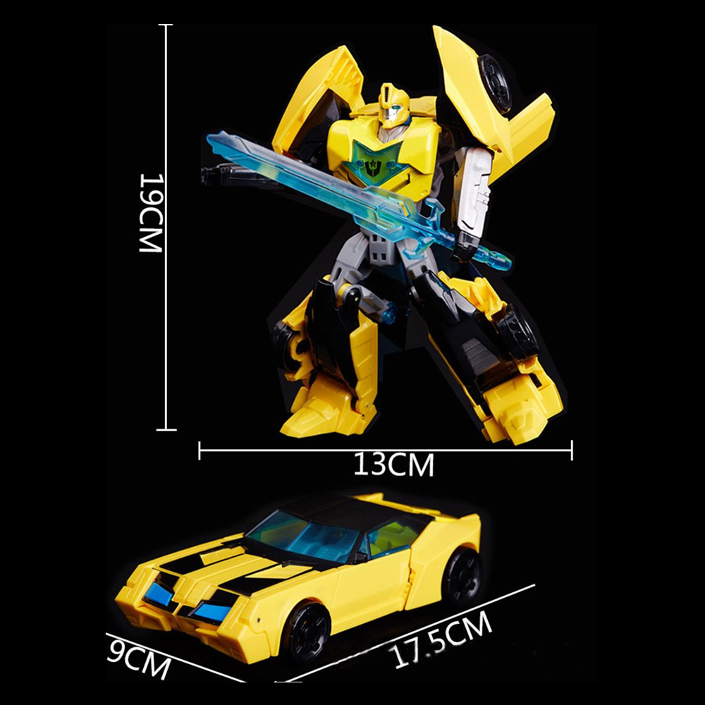 Transformers Toys Optimus Prime Bumblebee Action Figure Collection Model Dolls