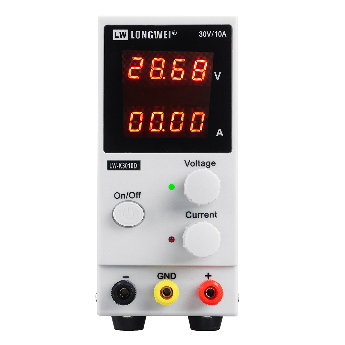 LONG WEI LW-K3010D 4 Digits LED Display 110V/220V 30V 10A Adjustable DC Power Supply Switching Regulated Power Supply